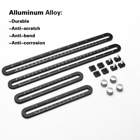 Multi Angle Measuring Ruler, Premium Aluminum Alloy