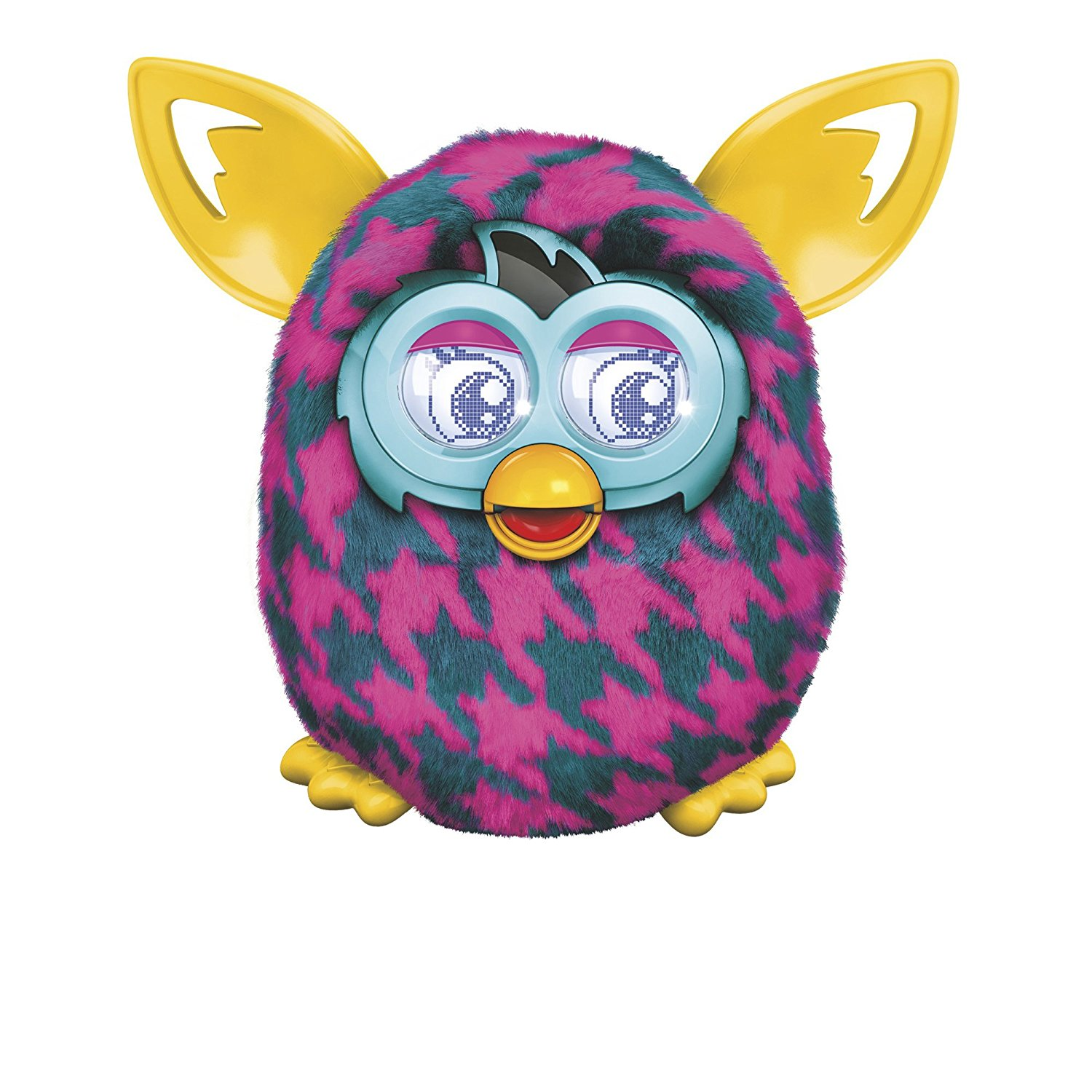 Furby Boom (Purple Houndstooth) by