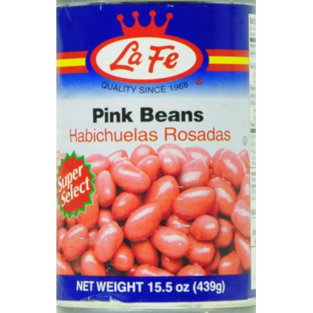 La Fe Pink Beans In Water And Salt