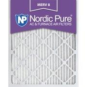 16x24x1 Pleated MERV 8 AC Furnace Air Filters Qty 6