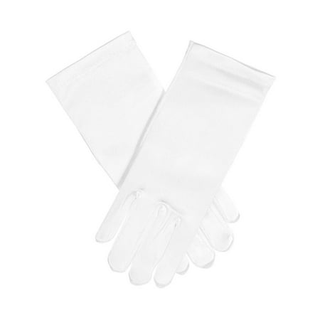 The Communion Collection Basic Gloves (0 - 12 (Girl First Communion Satin Gloves)