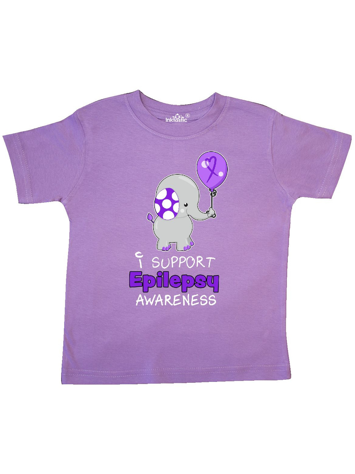 inktastic This Kid Supports Epilepsy Awareness Toddler T-Shirt
