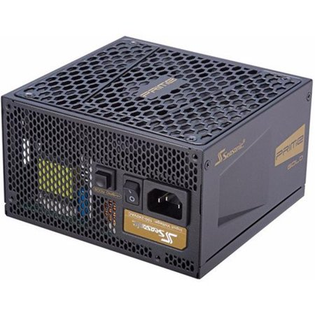 Seasonic PRIME Ultra 750W 80+ Gold Power Supply, Full Modular, 135mm FDB Fan w/Hybrid Fan Control, ATX12V & EPS12V, Compact 140 mm Size, Power On Self Tester,
