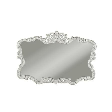 Big Aureate Antique White Decorative Wall Mirror by Martin Svensson ()