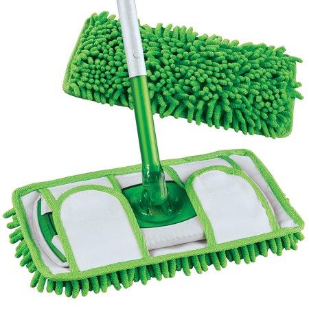 Reusable Chenille Microfiber Mop Pads Set Of 2 Fits