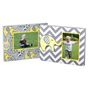 Blossom and Buds 2 Piece Lil Peanut Wooden Picture Frame Set (Set of 2)