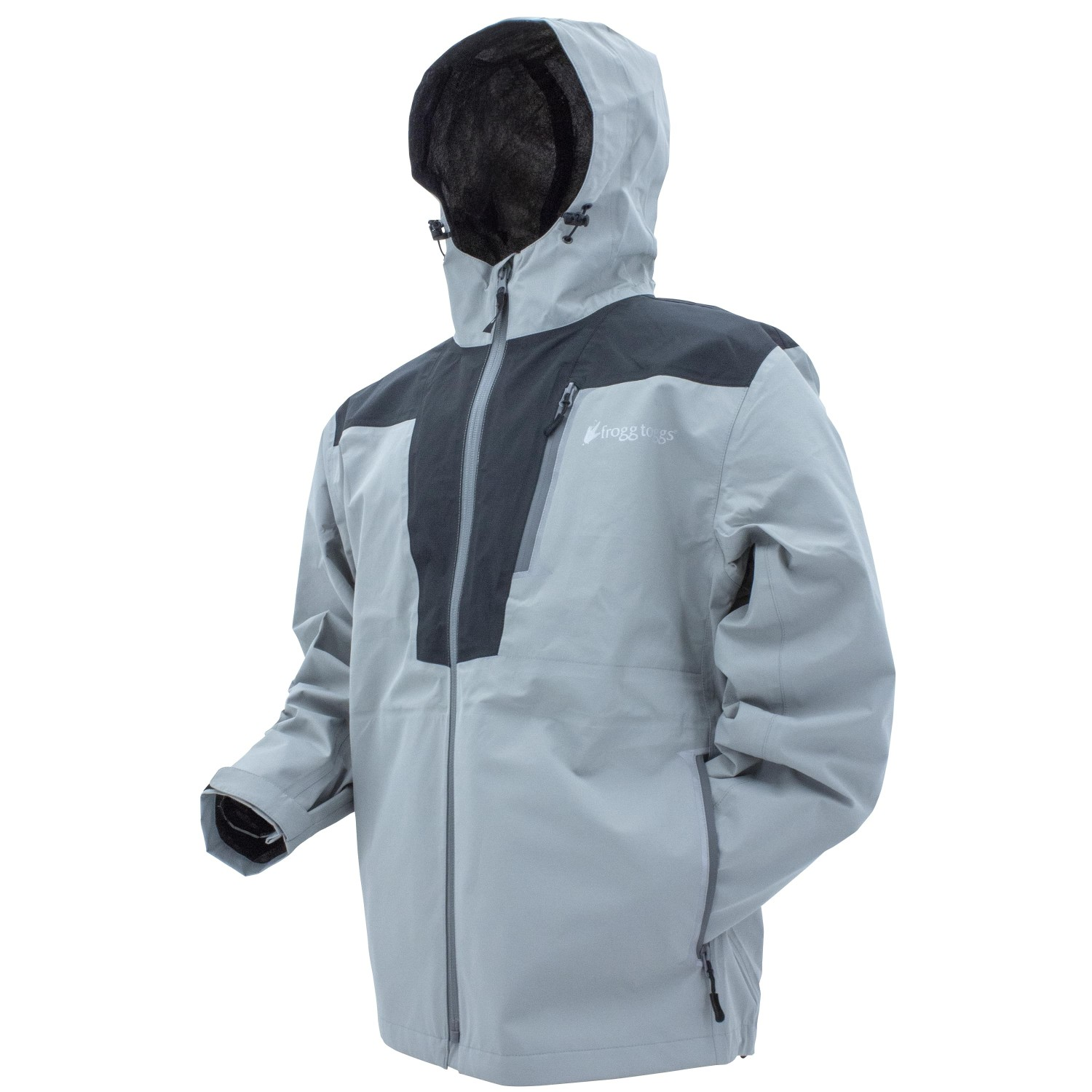 Frogg Toggs Rockslide Jacket Gray Carbon Large