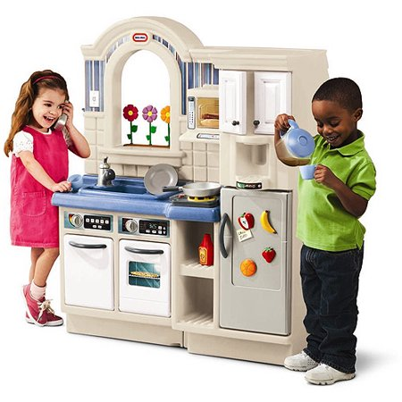 Little Tikes Inside/Outside Cook \'n Grill Kitchen - Walmart.com
