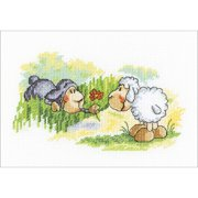 "RTO Counted Cross Stitch Kit 7""X4.25""-Choose Me...! (14 Count)"