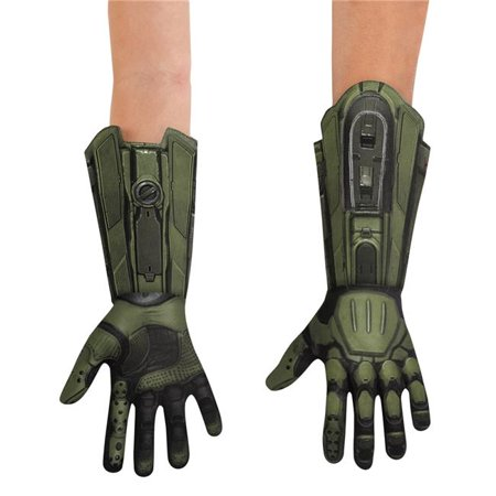 Morris Costumes DG89997CH Master Chief Gloves Child Costume (Master Chief Gloves)
