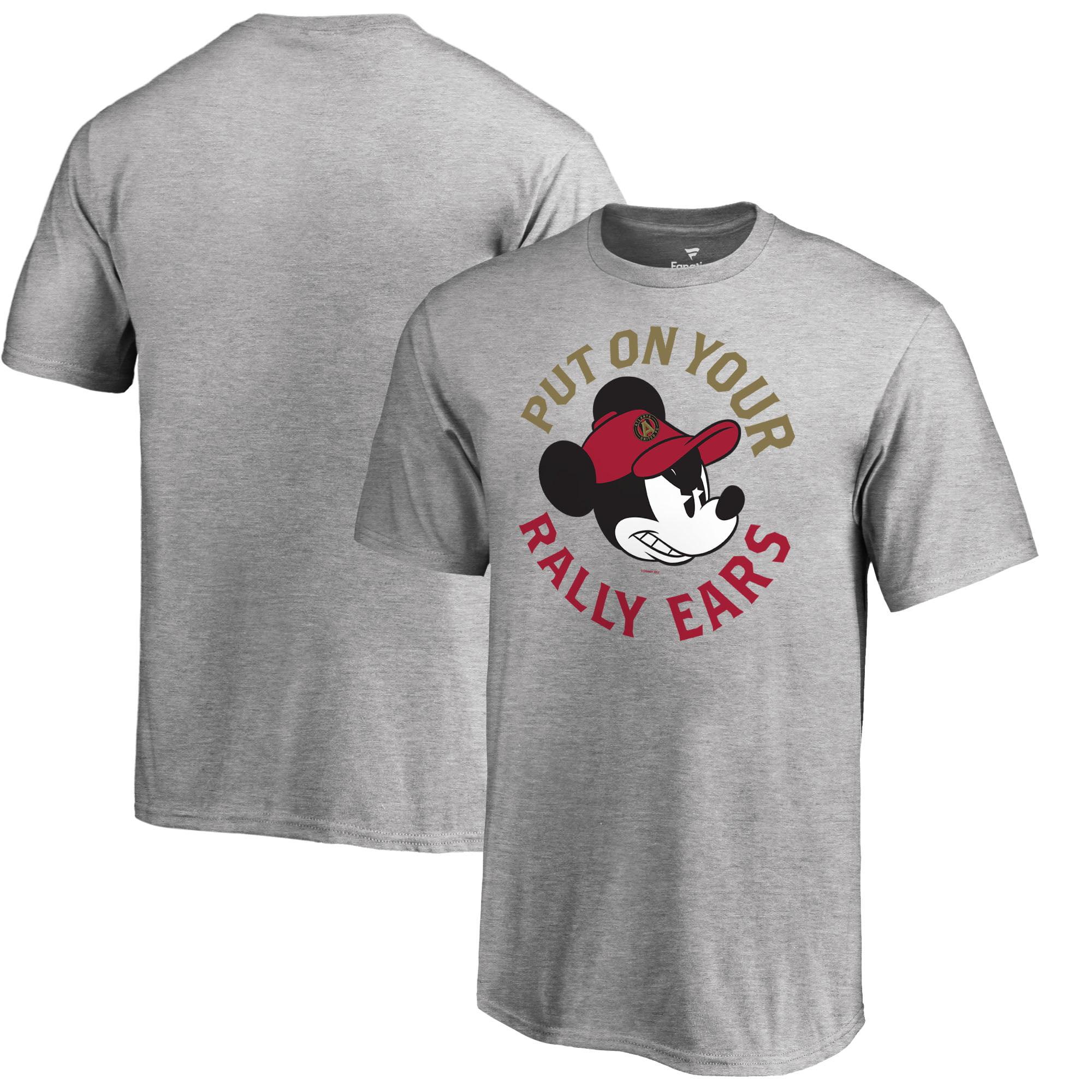 Atlanta United FC Fanatics Branded Youth Disney Rally Ears T-Shirt - Heathered Gray