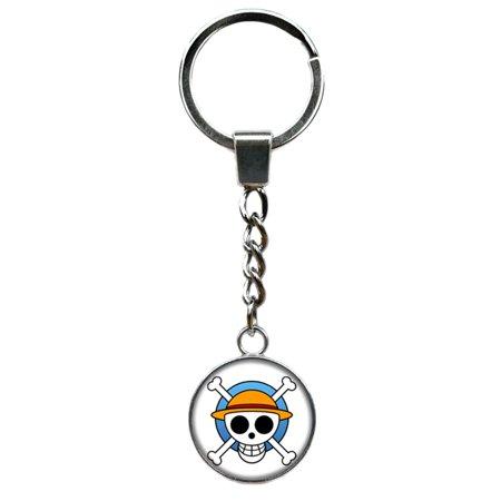 Superheroes Cosplay (One Piece Keychain Key Ring Anime Manga TV Comics Movies Cartoon Superhero Logo Theme Premium Quality Detailed Cosplay Jewelry Gift)