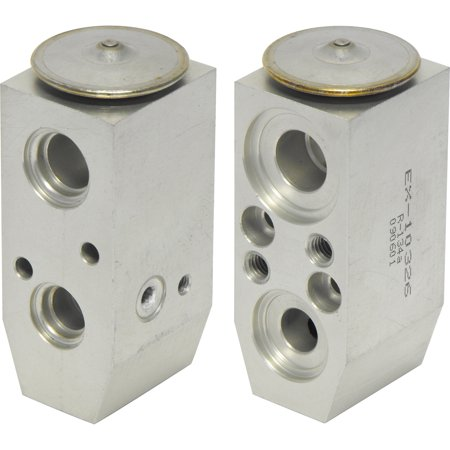 New UAC EX 10326C A/C Expansion Valve -- Block Expansion Valve