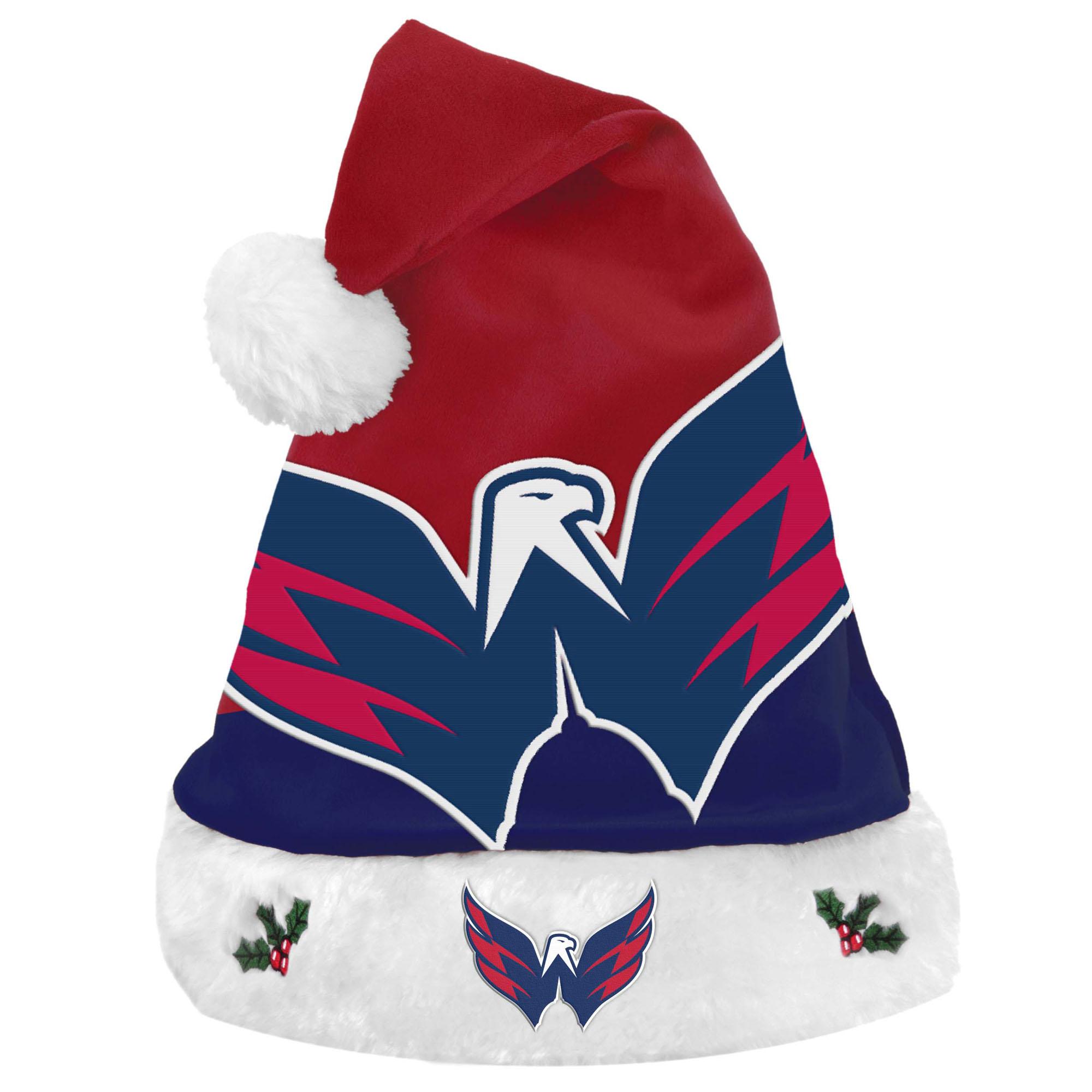 Washington Capitals Team Basic Santa Hat - No Size