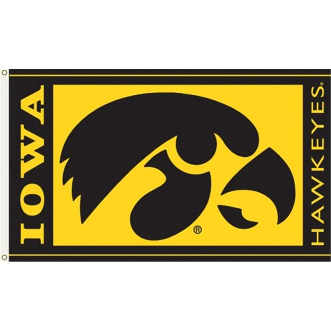 Bsi Products 95024 3 Ft. X 5 Ft. Flag W/Grommets - Iowa Hawkeyes