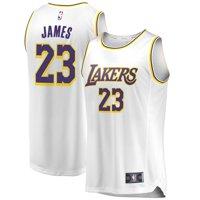 LeBron James Los Angeles Lakers Fanatics Branded 2018/19 Fast Break Replica Jersey White - Association Edition