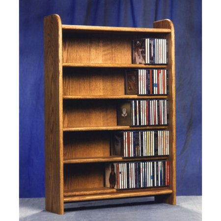 Wood Shed 500 Series 275 CD Multimedia Storage Rack