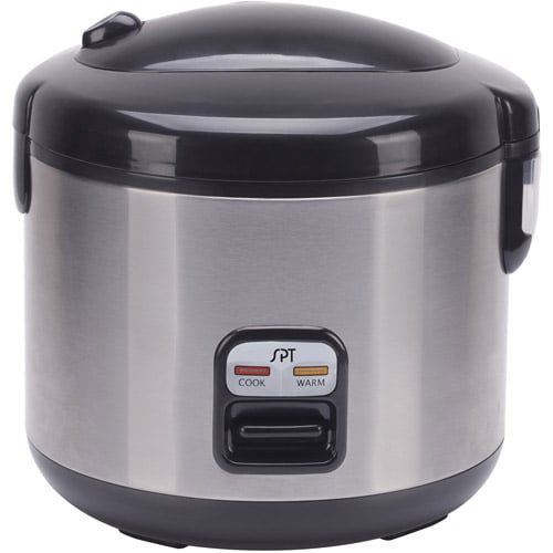 Sunpentown 10-Cup Rice Cooker, Stainless Steel by Sunpentown