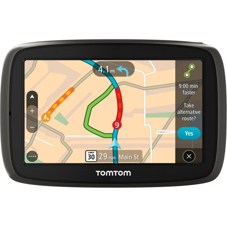 Tomtom Go 60 S 6   Gps With Lifetime Map And Traffic Updates