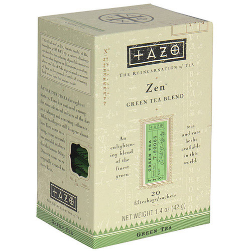 Tazo Zen Green Tea, 20ct (Pack of 6)