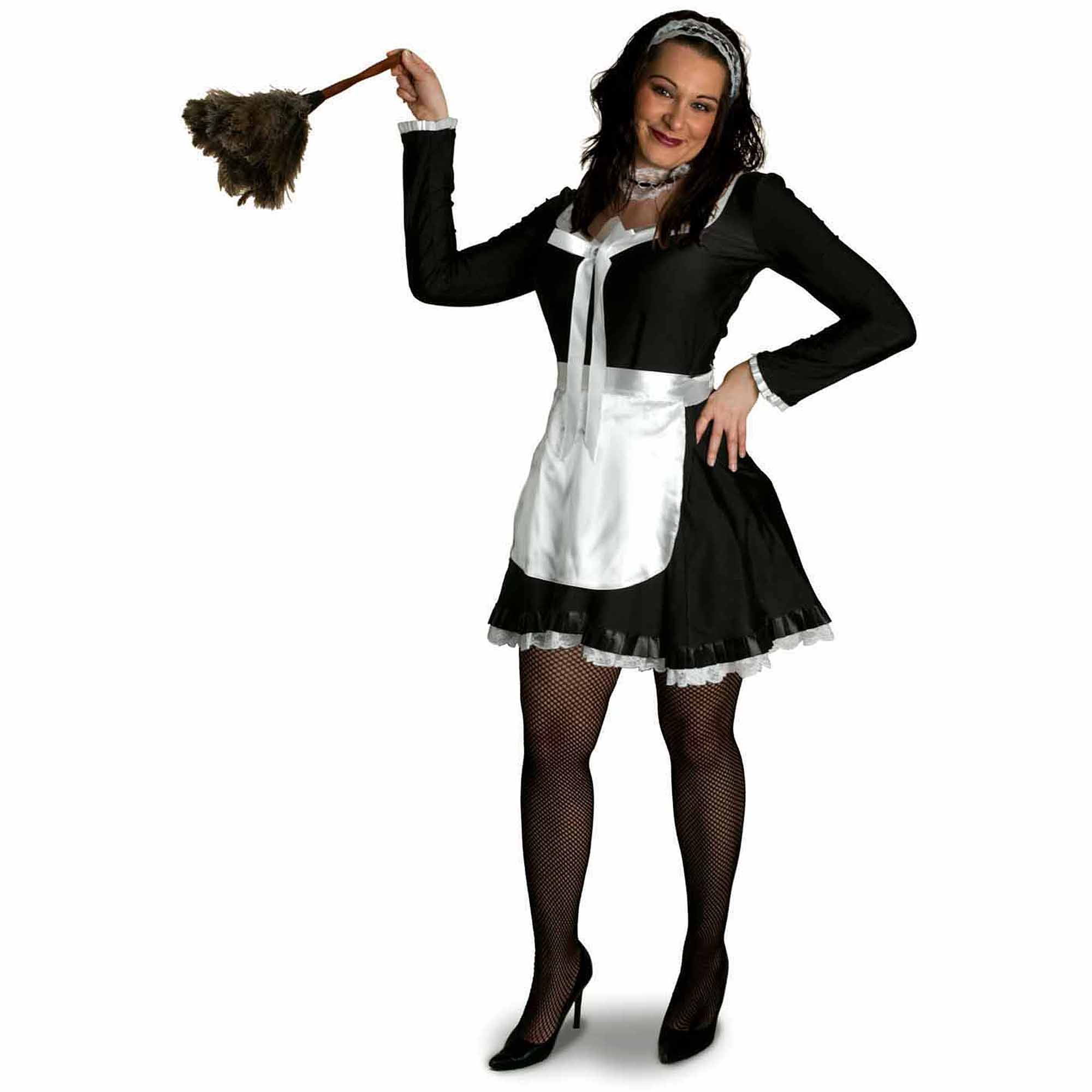 Lava Diva Chambermaid Women's Plus Size Adult Halloween Costume