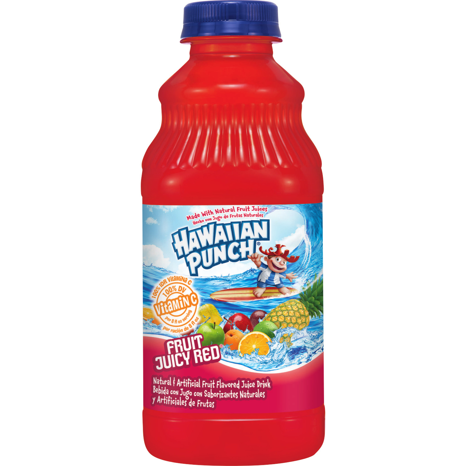 Hawaiian Punch Fruit Juicy Red Drink, 32 Fl. Oz.