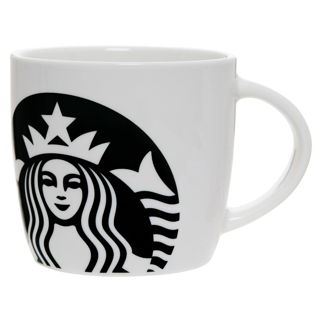 Starbucks 14oz Ceramic Mug White