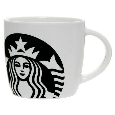 Starbucks 14 Ounce Ceramic White Mug