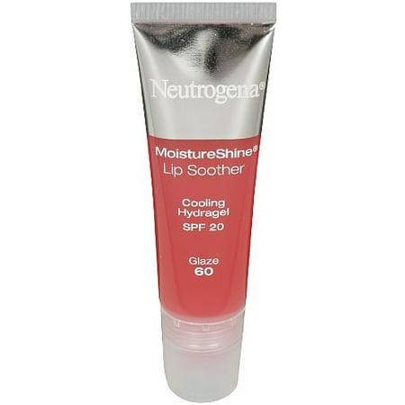 Neutrogena MoistureShine Lip Soother, Glaze [60] 0.35 oz (Pack of 3)