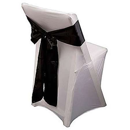 Satin Chair Sash10-Pack - Cheap Chair Covers And Sashes