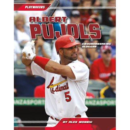 Albert Pujols : Groundbreaking Slugger Albert Pujols Autographed Baseball