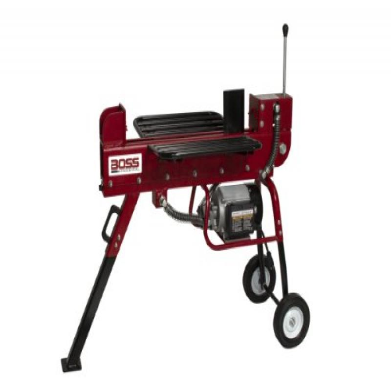 Boss Industrial ED10T20 Industrial Electric Log Splitter, 10-Ton by Log Splitters
