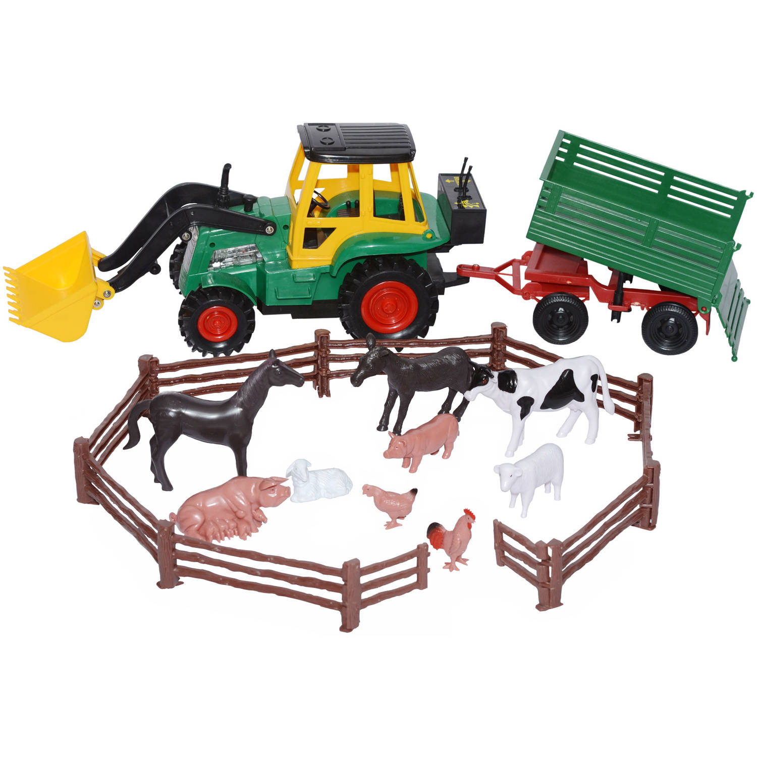 Skyteam Technology Farm Tractor Set with Animals by Skyteam Technology