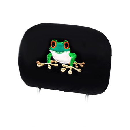 Logo Car Seat Towel - New Ultimate Frog Logo Car Seat Covers Headrest Covers
