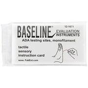 Fabrication Ent Baseline\xc2\xae Tactile Monofilament - ADA Program - Disposable - 5.07 - 10 gram - Single unit