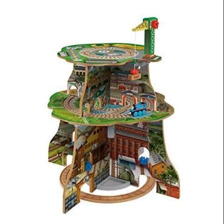 Thomas & Friends Wooden Railway Up & Around Adventure Tower by Fisher-Price