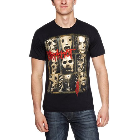 SLIPKNOT Men's Mezzotint Decay T-shirt Black](Slipknot Suits)