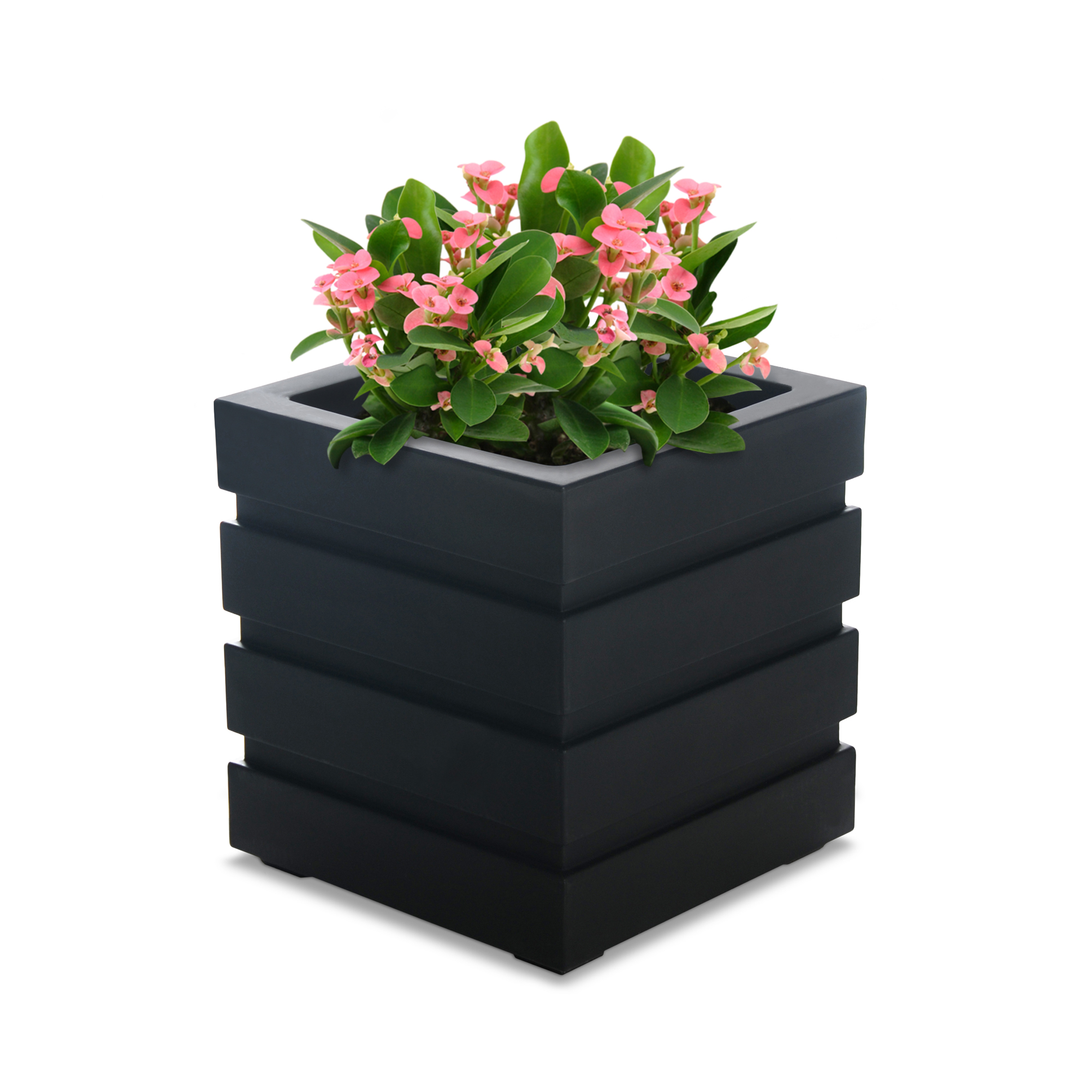 Freeport Patio Planter 18x18 - Black
