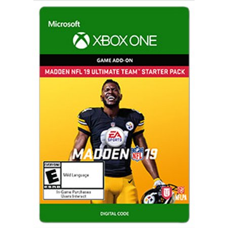 Madden 15 Halloween Pack (Madden NFL 19 - Starter Pack, Electronic Arts, Xbox, [Digital)