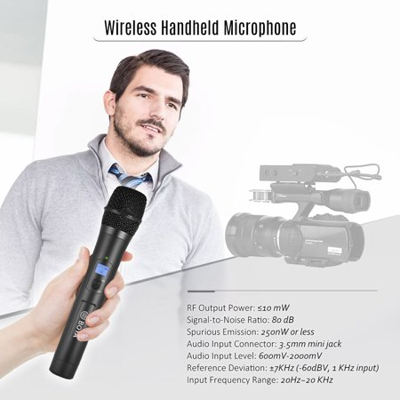 BOYA BY-WHM8 Pro 48-Channel UHF Wireless Handheld Microphone Dynamic Mic for Karaoke Interview Meeting Audio Recording Stage Singing Compatiable with BOYA BY-WM8 /BY-WM6 Receiver - image 7 de 7
