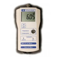 Milwaukee Ph Meter .00TO with 2 Point Manual Calibration