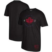 Toronto Raptors Mitchell & Ness Hardwood Classics Hometown T-Shirt - Black