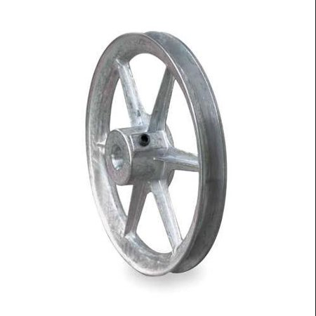 "CONGRESS CA0600X100KW V-Belt Pulley, 1""Fixed, 6""OD, Zamak3"
