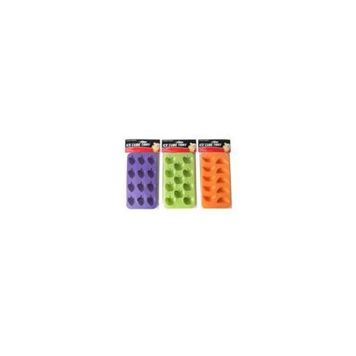 Bulk Buys Ice cube trays with fun shapes  assorted Case Of 24