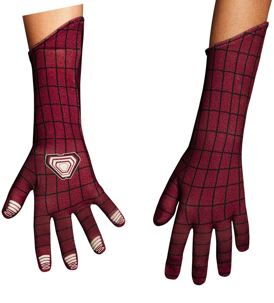Boys amazing spider man deluxe gloves for costume walmart jeuxipadfo Images