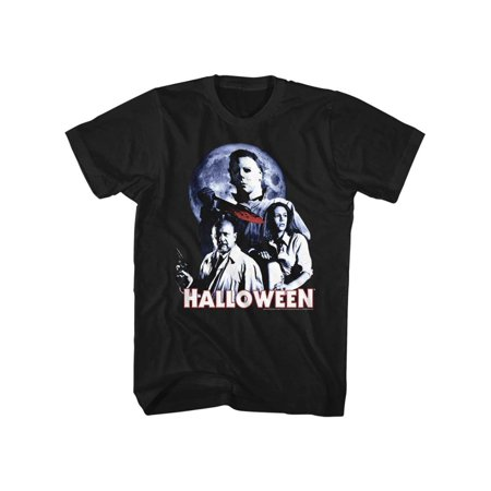Top 20 Scary Halloween Movies (Halloween Scary Horror Slasher Movie Film Whole Ensemble Adult T-Shirt)