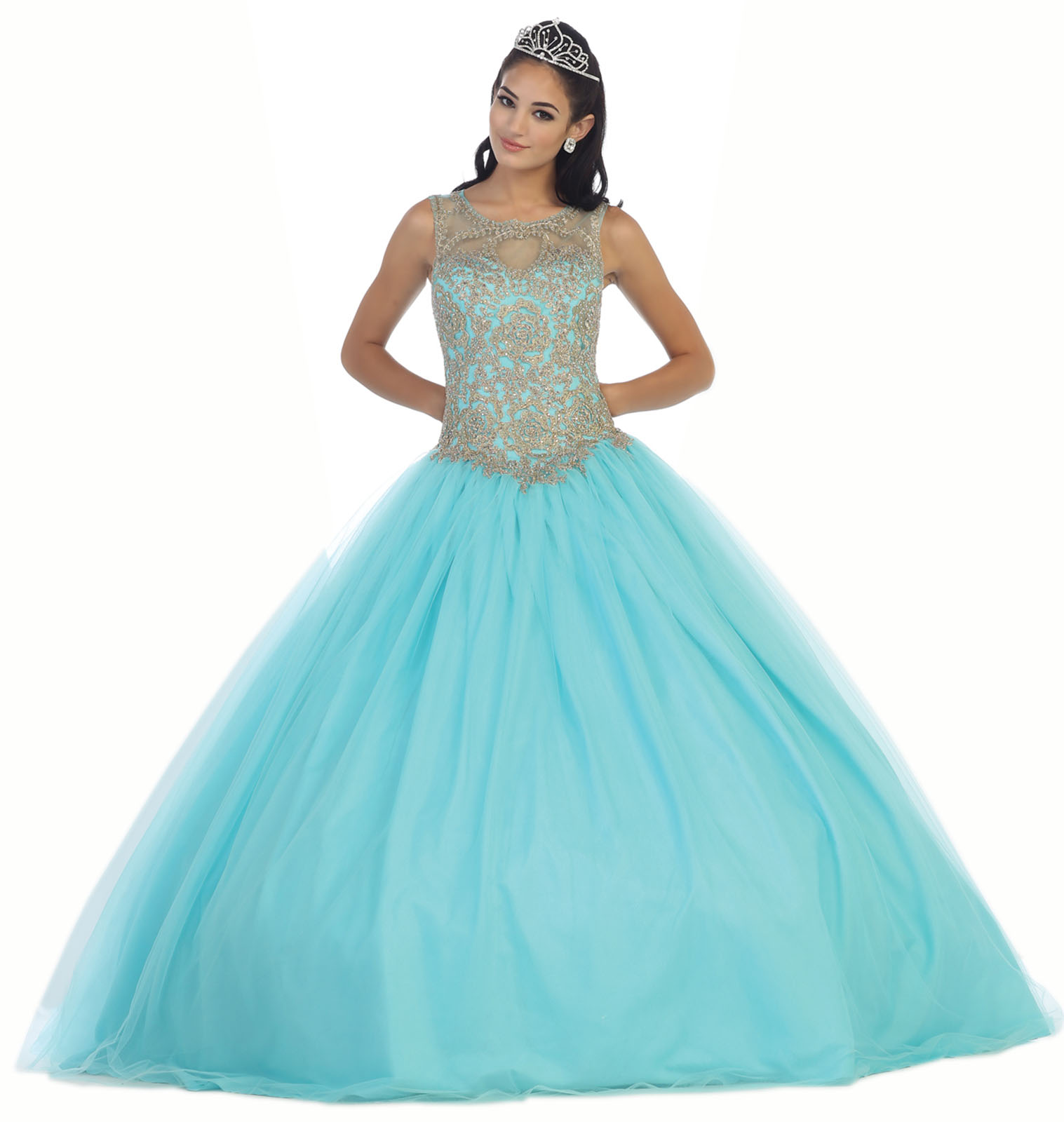 ENCHANTING CINDERELLA FORMAL BALL GOWN