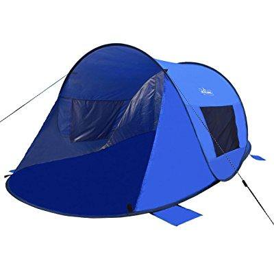 Acelane 2 Person Beach Pop Up Tent Sun Shade Shelter Canopy For Adults Children And Babies With Uv Protection 87 X 51 X 39 Inches  Blue