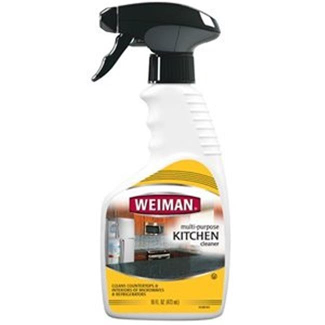 Weiman BCA42644 Kitchen Cleaner Trigger, 6 x 16 oz