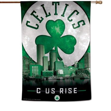 """Boston Celtics WinCraft 28"""" x 40"""" Skyline Vertical Banner - No Size"""